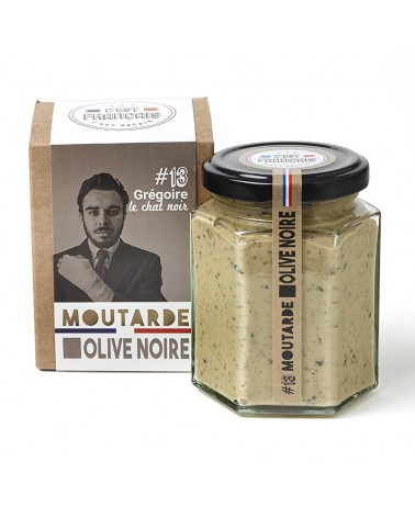 moutarde olive noire